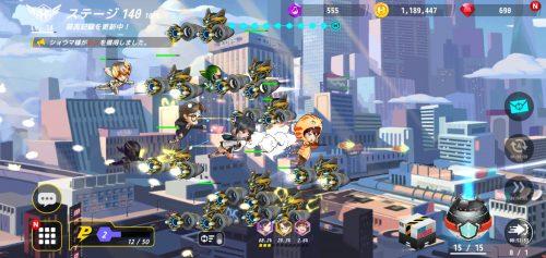 ヒーローボールZ バトル画面